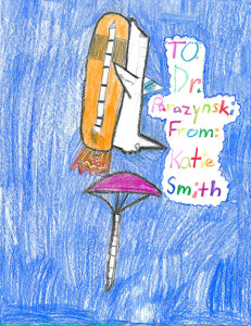 Artwork by Katie Smith 2nd grade, 8 years old